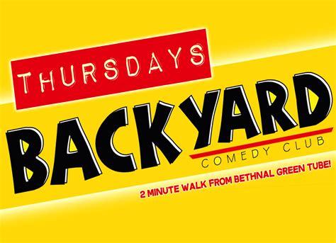 backyard comedy club applogo