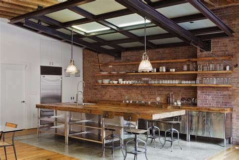 Industrial Style Kitchen Island | nikkimdesign industrial rustic