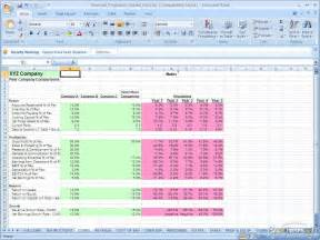 projection template free financial projections model financial