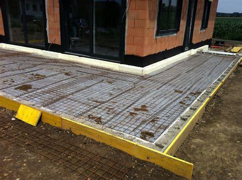 terrasse betonieren passivhaus passivhausblog part 7