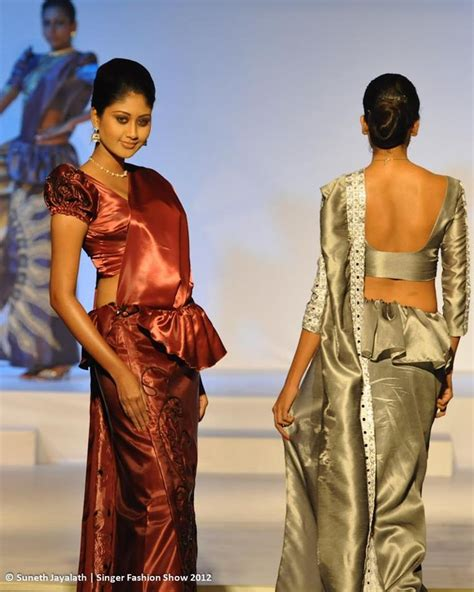 sri lankan gold styles 107 best images about saree drapes styles on pinterest