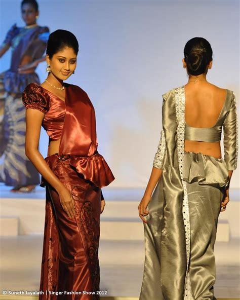 new sri lankan girrls hair styles kandyan sarees fashion pinterest saree