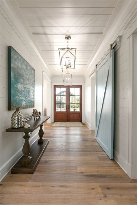 Foyer In A House by New House With Coastal Interiors Home Bunch