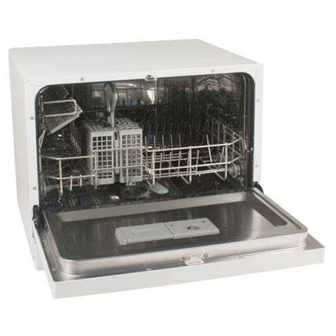 koldfront 6 place setting countertop dishwasher white