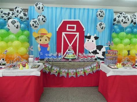 farm themed decorations la granja birthday ideas