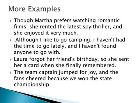 exle of compound sentence sentence types compound complex sentence exles