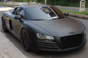 Matte Black by Audi R8 Matte Black Cars Pinterest Black Matte