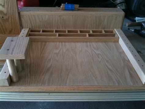 homemade fly tying bench home made fly tying station jimmy pinterest