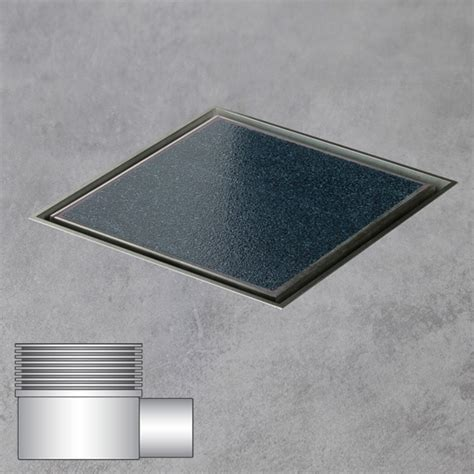 Tile Floor Drain Covers by Ess Aqua Jewels Quattro Floor Drain Including Cover For