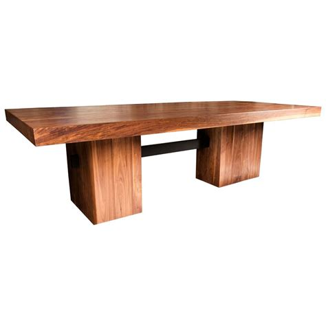 malibu dining table in solid walnut at 1stdibs