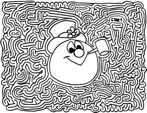 printable snowflake maze 28 best mazes for fun images on pinterest labyrinths