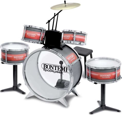 Peppa Pig Drum Set With Stool by Bontempi Drum Set With Stool Wholesale