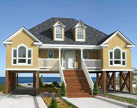 beach homes plans plan w60053rc low country or beach home plan e