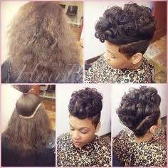 short natural hairstyles on instagram short natural hair and tapered too by sushiima on