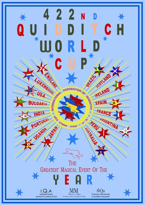 quidditch world cup blue poster 17 best images about hp quidditch teams on