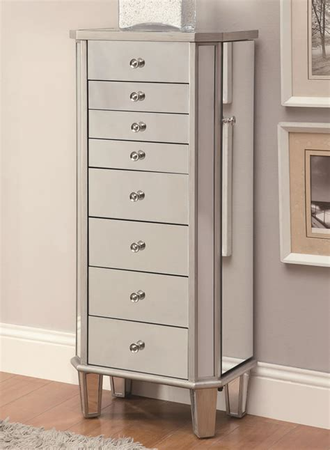 Modern Armoires by Modern Furniture Warehouse Jewellery Armoire Chicago