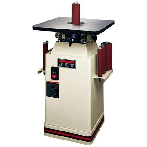 Home Depot Floor Sanders by Jet 115 Volt 1 Hp Floor Oscillating Spindle Sander 708411