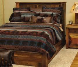 rustic cabin furnishings luxury bedding