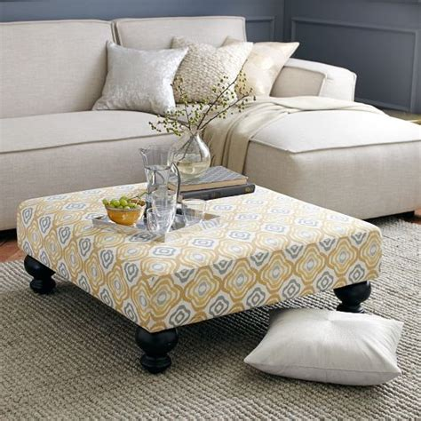 how to make a ottoman coffee table 12 easy steps to make diy ottoman coffee table coffe