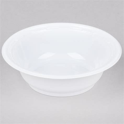 plastic bowls dodge packaging specialties 187 5oz white plastic bowl
