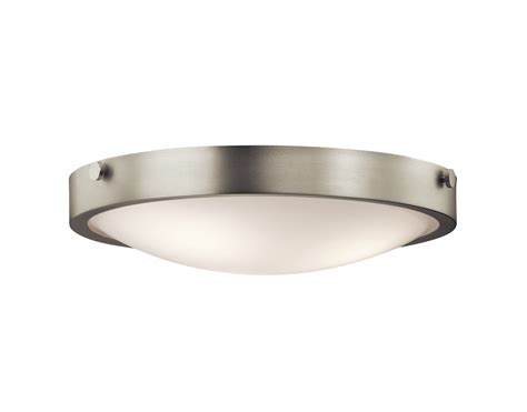 Small Flush Mount Ceiling Light Fixtures by Ceiling Lights Design Polished Brushed Nickel Flush Mount