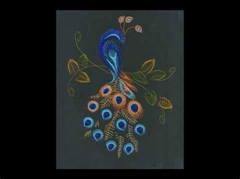 String Peacock Pattern - peacock string tutorial step by step string diy