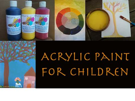 acrylic paint kid safe untitled document nature of