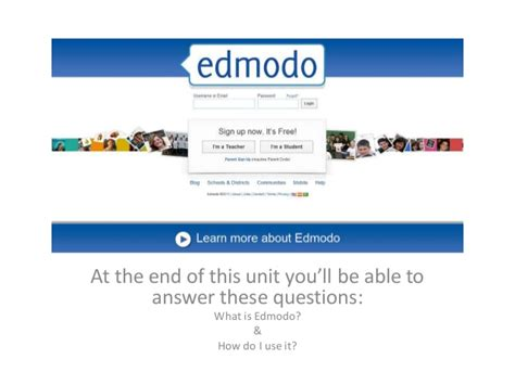 edmodo login edmodo for students