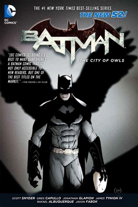 batman by scott snyder batman 2 the city of owls review basementrejects