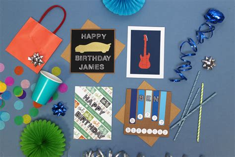 how to make birthday cards for boys four birthday cards to make for boys hobbycraft