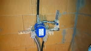 dusche unterputz sanit 228 r heizungsinstallationsarbeiten verlegen der rohre