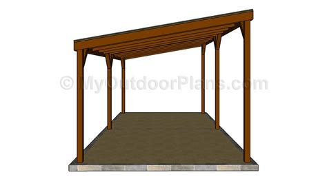 carports plans woodwork free standing carport designs pdf plans