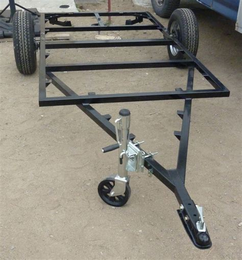 Tent Trailer Floor Plans a frame on trailer frame teardrop build pinterest