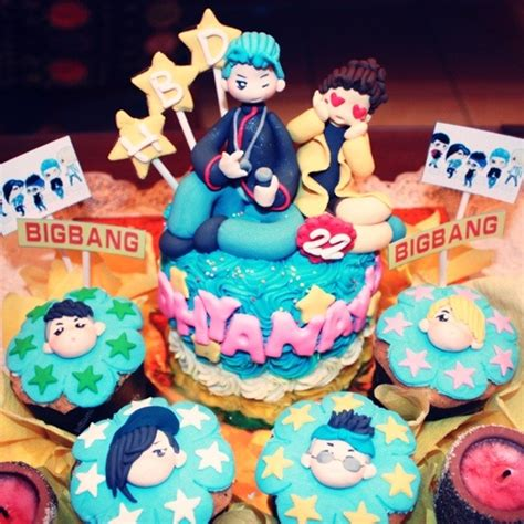 kpop themed party bigbang birthday cake kpop cakes pinterest birthday