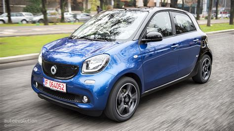 Smart Is The New Black by 2015 Smart Forfour Review Autoevolution