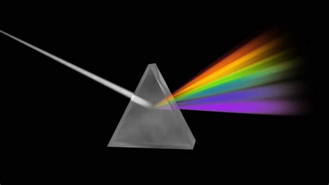 prism separating light spectrum hd a prism