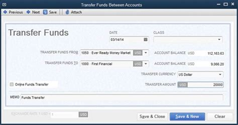 transferring funds between bank accounts bank accounts and credit cards bookkeeping quickbooks