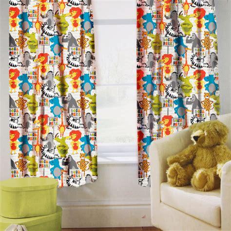 Childrens Nursery Curtains Childrens Nursery Curtains Junior Tweens Top Pencil Pleat Tiebacks Ebay