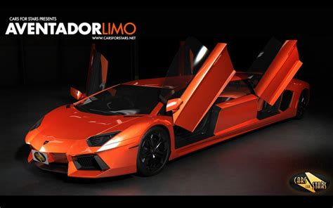 Sport Car Lambo Aventador Limo Verses   Automotive Share