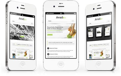 responsive layout iphone avada responsive design iphone vince balk