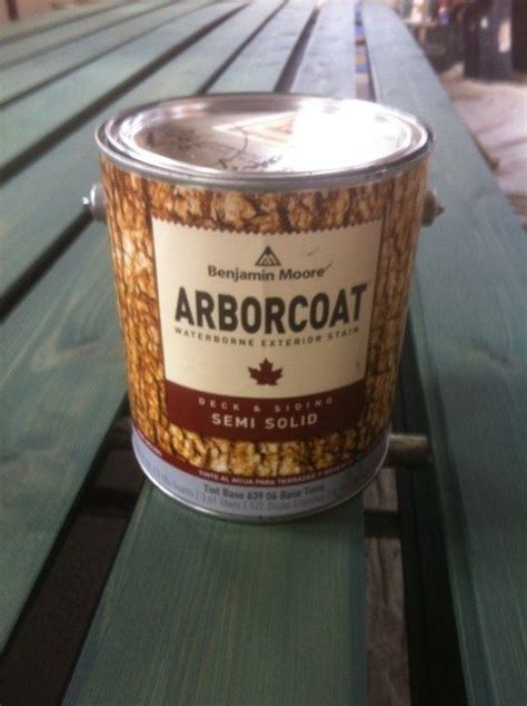 benjamin moore arborcoat semi solid stain  blogging