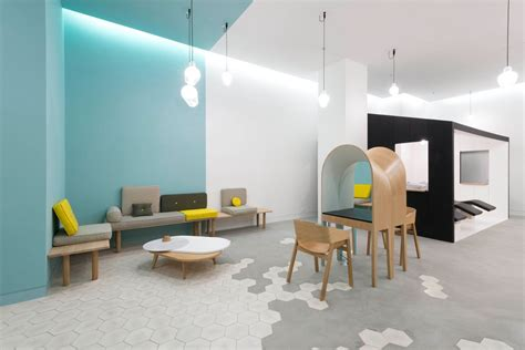 salon studio layout le coiffeur hair salon in marseille re imagines dedicated