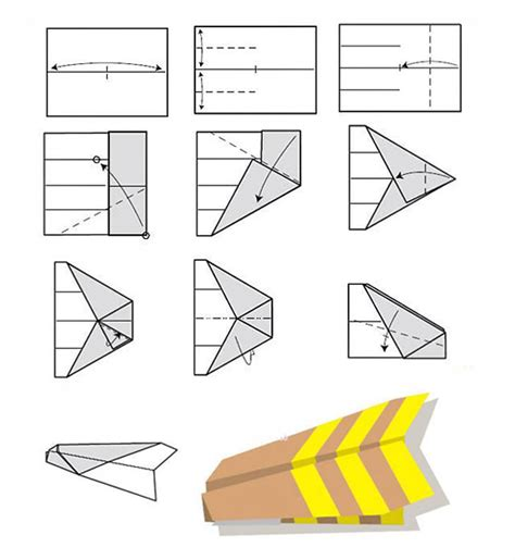 Folding Paper Airplanes - hm830 easy rc folding a4 paper airplane alex nld