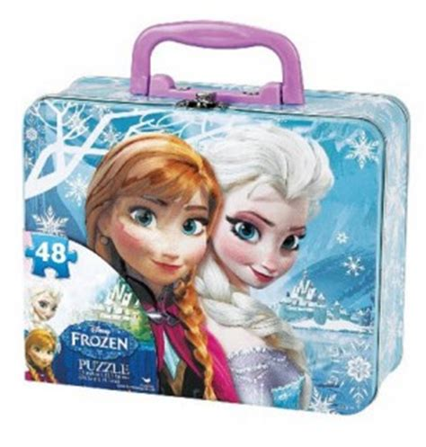 Snow Frozen Lunchbox disney frozen lunch box