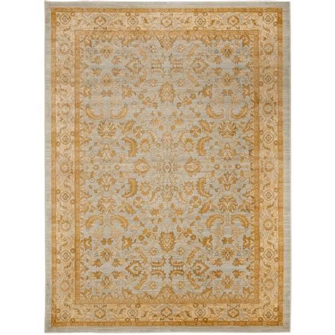 Lowes Rugs 4x6 by Safavieh Light Grey Gold 6 Ft 7 In X 9 Ft 1 In