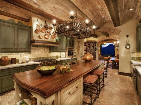 rustic italian kitchen design rustic kitchen cabinets pictures ideas tips from hgtv
