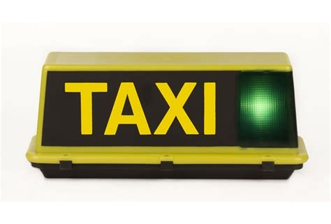 Taxi Light by Taxi Roof Light Products Industrias Saludes
