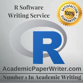 Software Paper Writing Help by R Software Writing Assignment Help R Software Essay