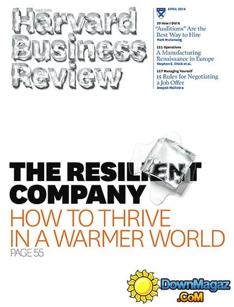 Harvard Mba Reading List 2014 by Harvard Business Review April 2014 Torrent