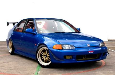 Honda Civic Genio Modif by Modifikasi Honda Civic Genio 1993 Biru Hondas